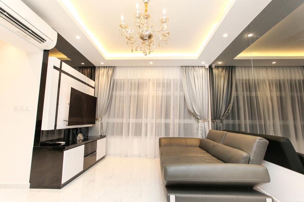 Modern, HDB, Living Room, Yishun Street 51, Interior Designer, 9's Interior, Couch, Furniture, Indoors, Interior Design