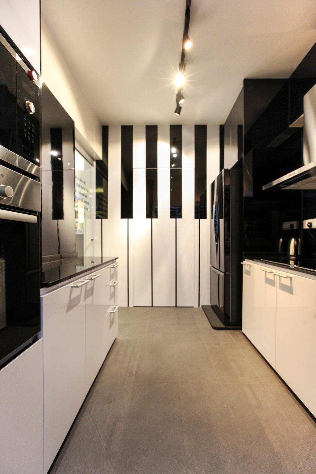 Modern, HDB, Kitchen, Yishun Street 51, Interior Designer, 9's Interior