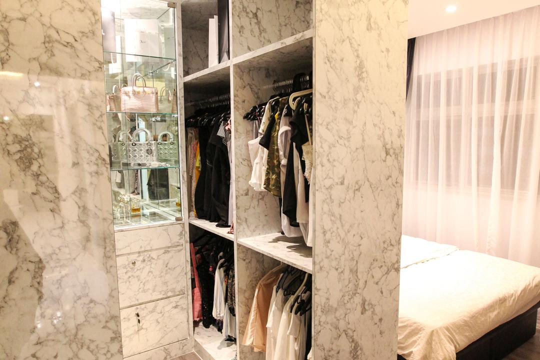 Yishun Street 51, 9's Interior, Modern, HDB, Closet, Cupboard, Furniture, Wardrobe