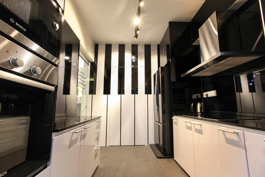 Yishun Street 51, 9's Interior, Modern, Kitchen, HDB, Building, Housing, Indoors, Loft, Interior Design