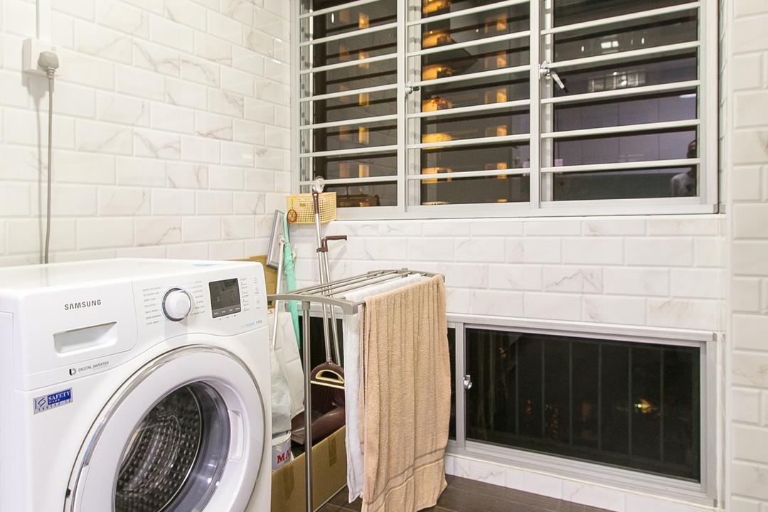 Choa Chu Kang Street 51, 9's Interior, Modern, HDB, Appliance, Electrical Device, Washer
