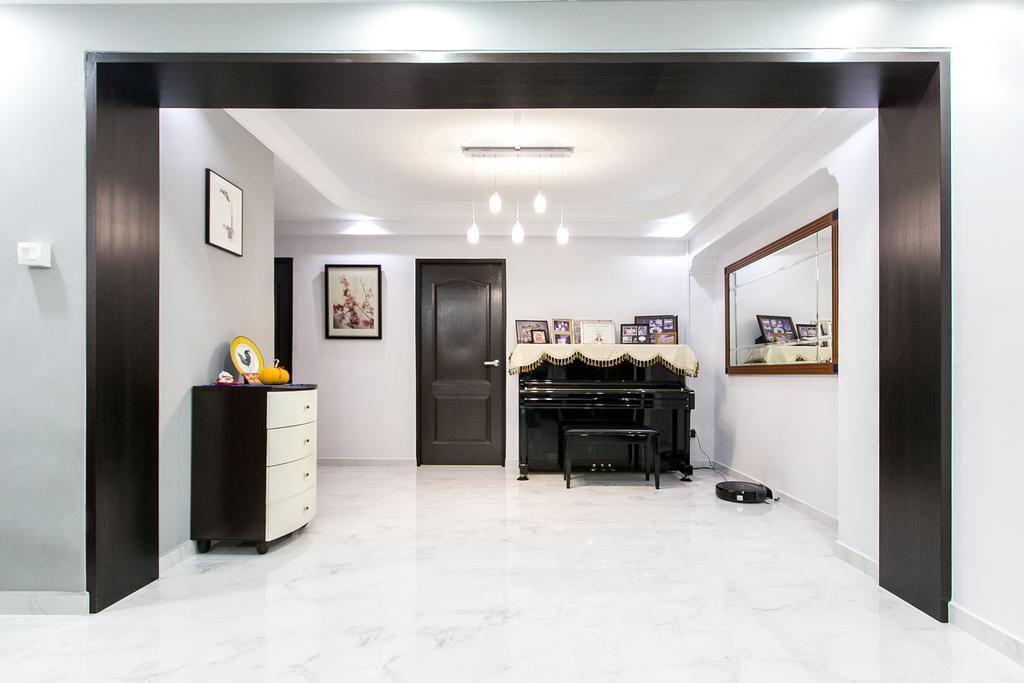 Modern, HDB, Living Room, Choa Chu Kang Street 51, Interior Designer, 9's Interior, Leisure Activities, Music, Musical Instrument, Piano, Upright Piano