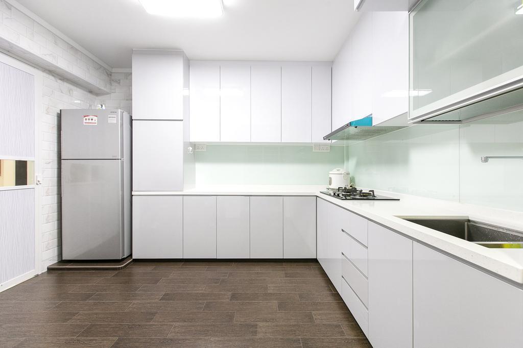 Modern, HDB, Kitchen, Choa Chu Kang Street 51, Interior Designer, 9's Interior