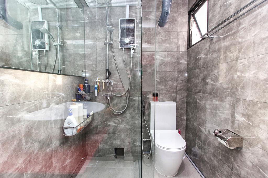 Contemporary, HDB, Bathroom, Jurong Street 41, Interior Designer, 9's Interior, Toilet, Indoors, Interior Design, Room