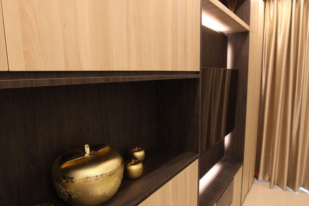 Twin Waterfalls, 9's Interior, Modern, Kitchen, Condo, Curtain, Home Decor, Shower Curtain, Pot