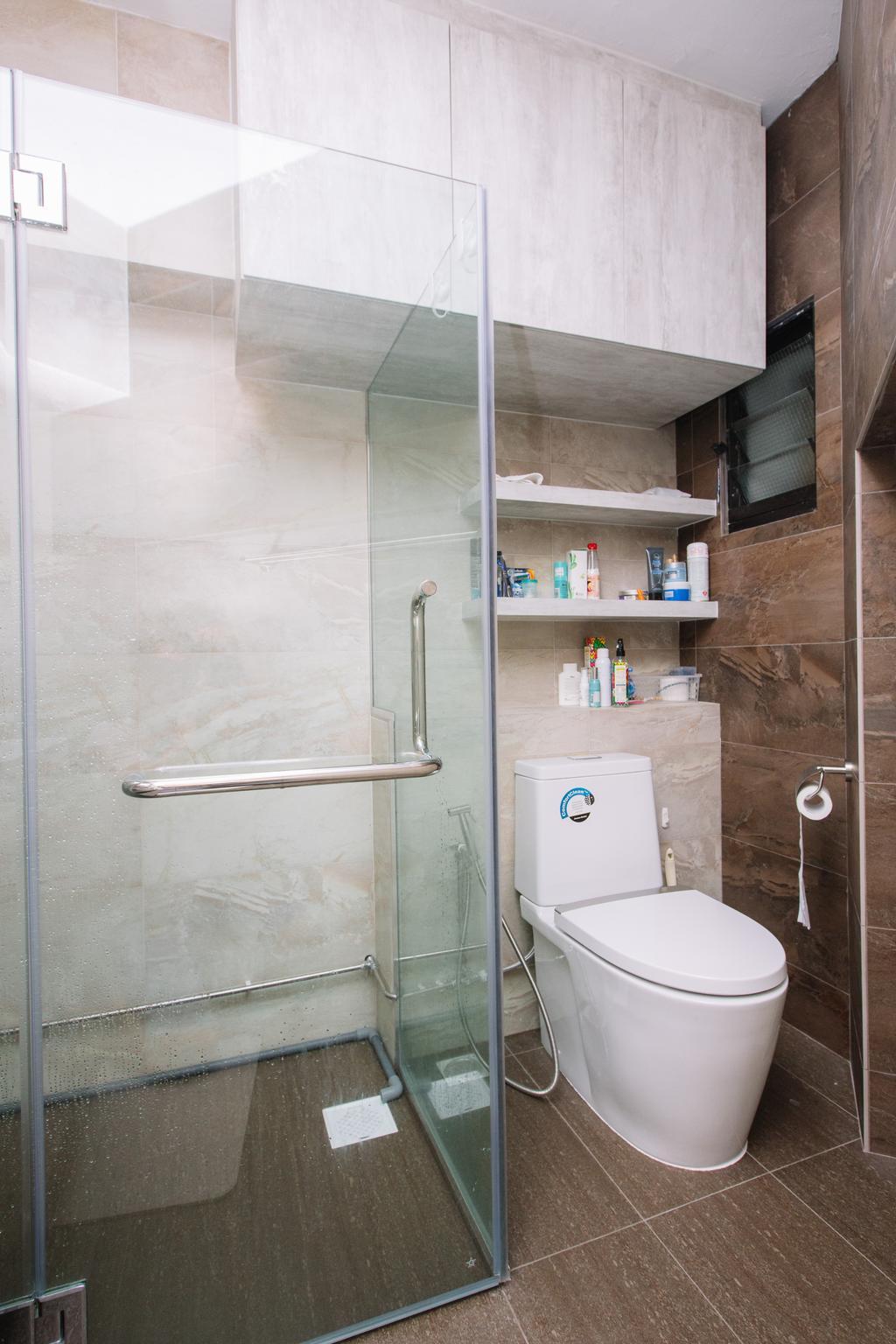 Scandinavian, HDB, Bathroom, Choa Chu Kang North 6, Interior Designer, 9's Interior