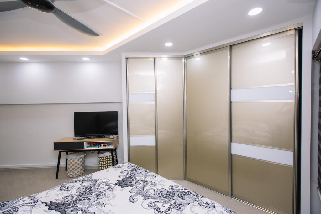 Scandinavian, HDB, Choa Chu Kang North 6, Interior Designer, 9's Interior, Bedroom, Indoors, Interior Design, Room