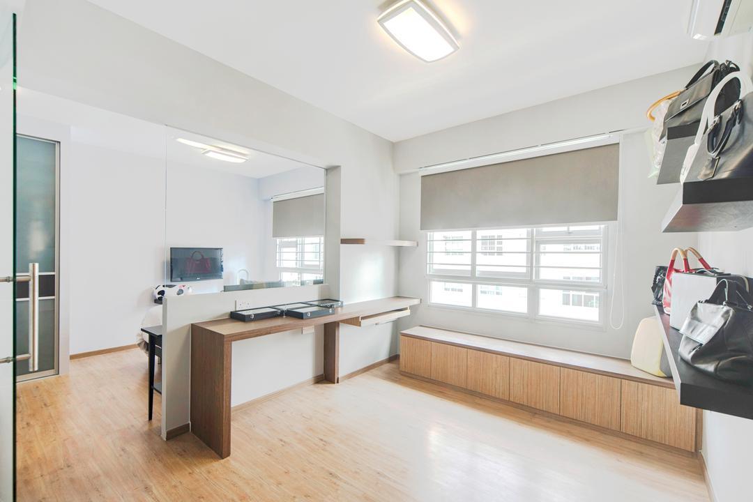 Punggol Drive, Cozy Ideas Interior Design, Modern, HDB, Desk, Furniture, Table, Indoors, Interior Design
