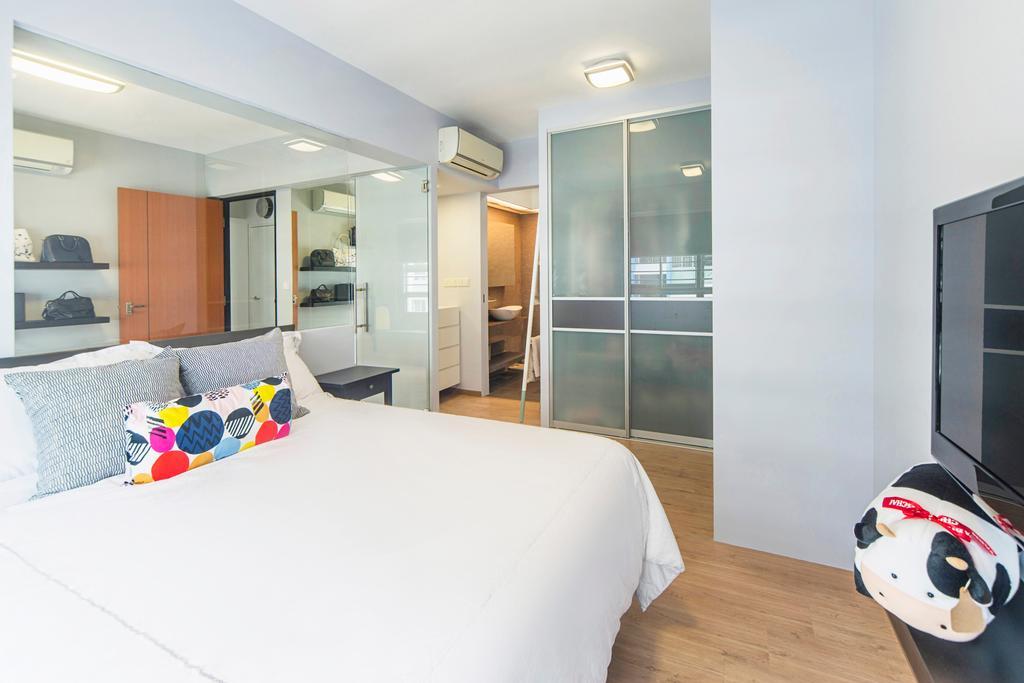 Modern, HDB, Bedroom, Punggol Drive, Interior Designer, Cozy Ideas Interior Design, Indoors, Room, Interior Design