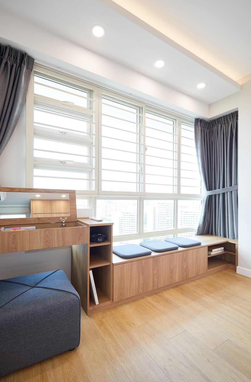Scandinavian, HDB, Bukit Batok, Interior Designer, The Local INN.terior 新家室