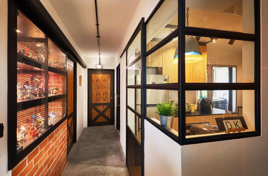 Eclectic, HDB, Clementi, Interior Designer, The Local INN.terior 新家室, Industrial