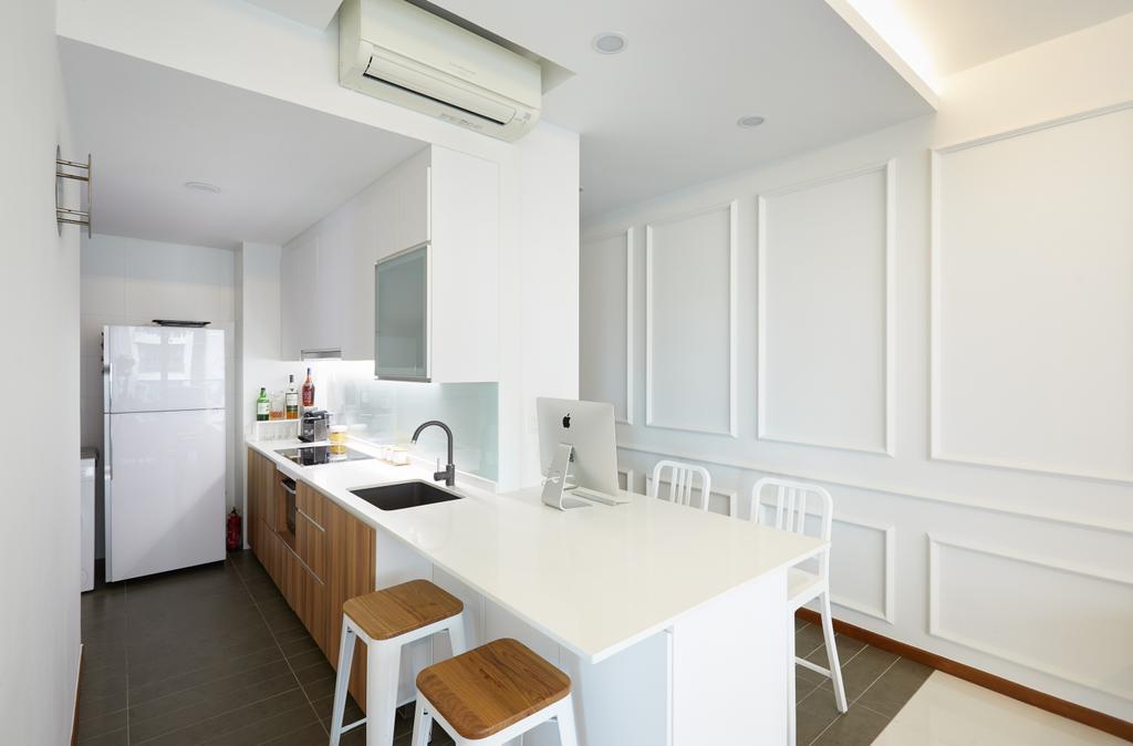 Modern, Condo, Dining Room, Double Bay Residences, Interior Designer, The Local INN.terior 新家室