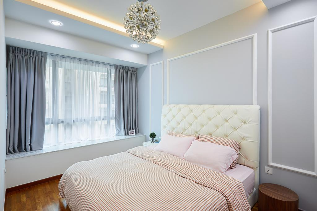 Modern, Condo, Bedroom, Double Bay Residences, Interior Designer, The Local INN.terior 新家室