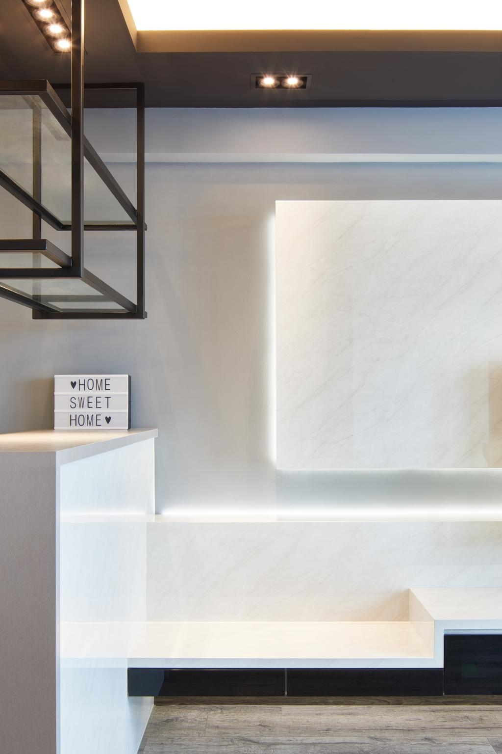 Contemporary, HDB, Living Room, Toa Payoh, Interior Designer, The Local INN.terior 新家室
