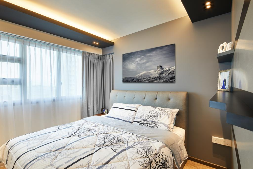 Contemporary, HDB, Bedroom, Toa Payoh, Interior Designer, The Local INN.terior 新家室