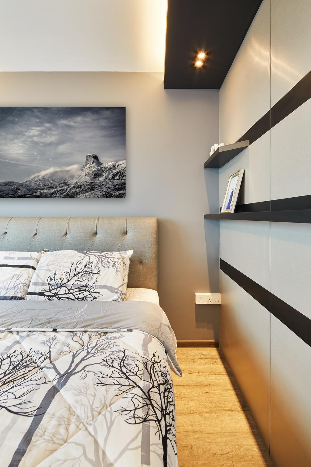 Contemporary, HDB, Bedroom, Toa Payoh, Interior Designer, The Local INN.terior 新家室