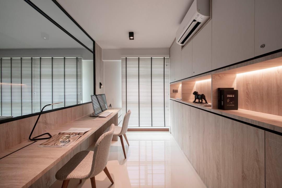 Clementi Avenue 3, KDOT, Modern, Scandinavian, Study, HDB, Chair, Furniture, Indoors, Interior Design