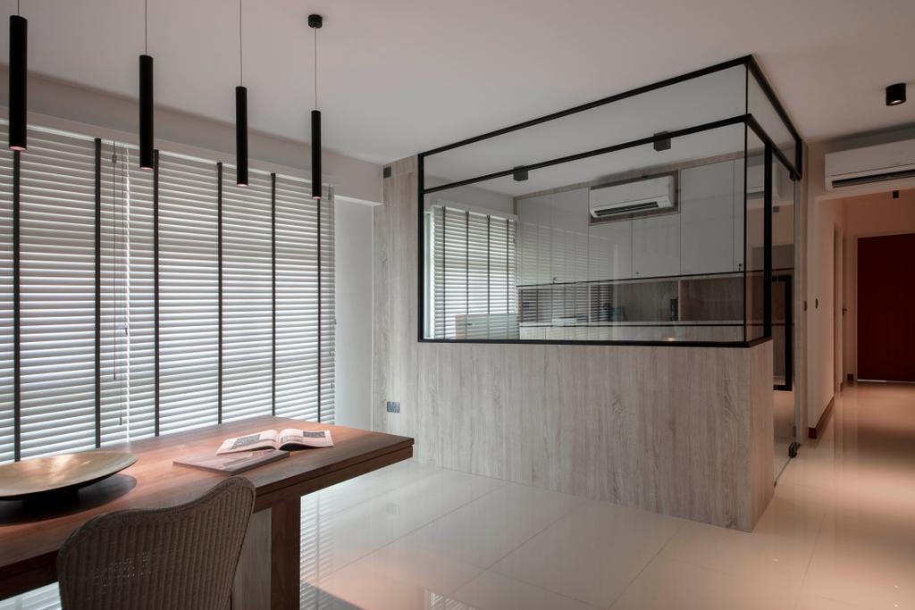 Modern, HDB, Dining Room, Clementi Avenue 3, Interior Designer, KDOT, Scandinavian