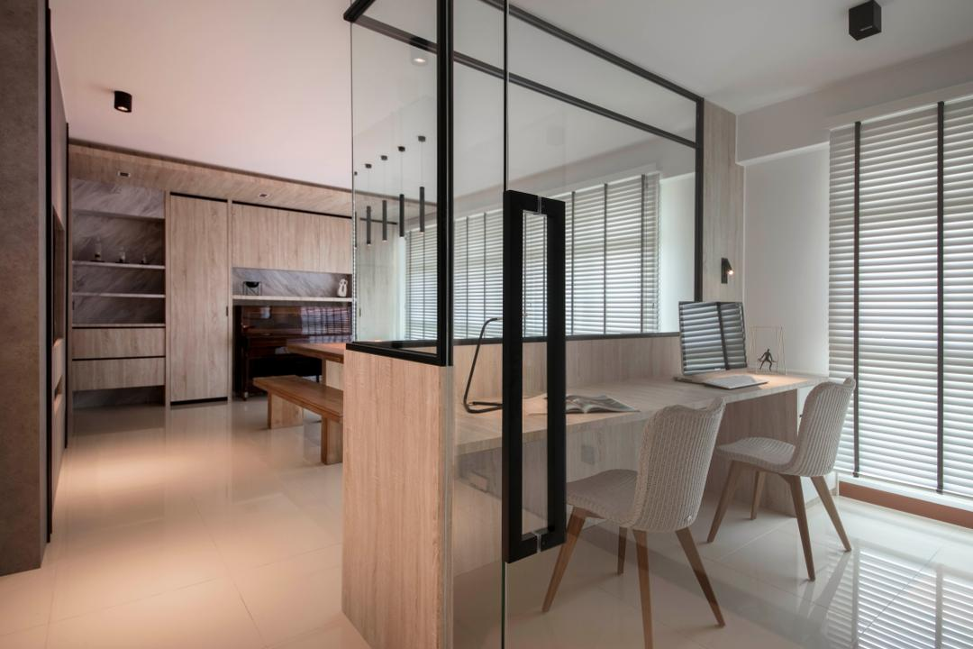 Clementi Avenue 3, KDOT, Modern, Scandinavian, HDB, Chair, Furniture, Dining Table, Table