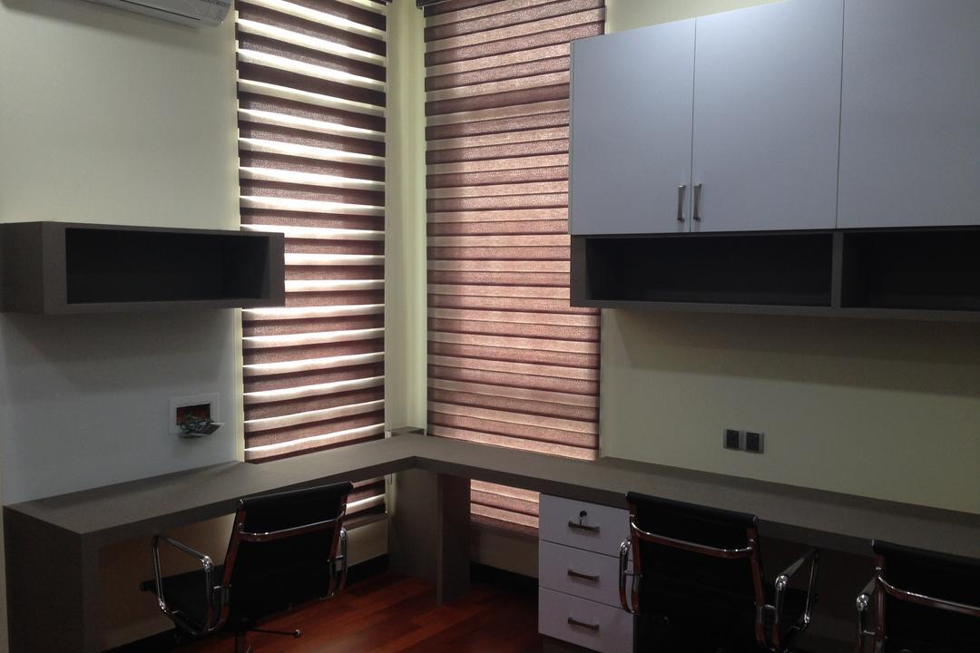 Kinrara Residence, Puchong, Trivia Group Sdn. Bhd., Modern, Landed, Banister, Handrail, Staircase