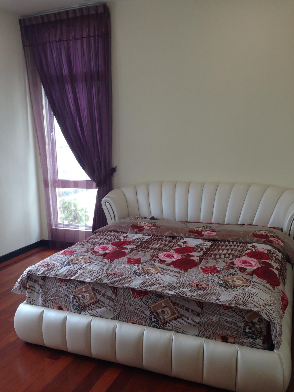 Modern, Landed, Kinrara Residence, Puchong, Interior Designer, Trivia Group Sdn. Bhd., Bed, Furniture, Bedroom, Indoors, Interior Design, Room, Couch