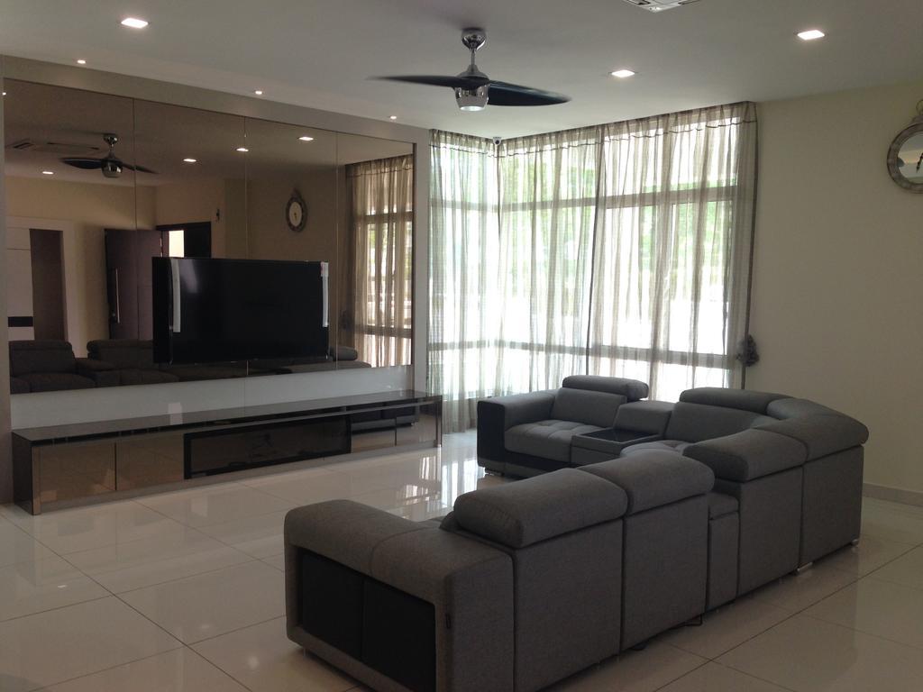 Modern, Landed, Kinrara Residence, Puchong, Interior Designer, Trivia Group Sdn. Bhd., Couch, Furniture