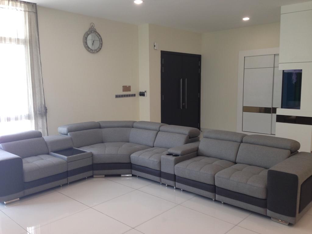 Modern, Landed, Kinrara Residence, Puchong, Interior Designer, Trivia Group Sdn. Bhd., Couch, Furniture, Indoors, Interior Design