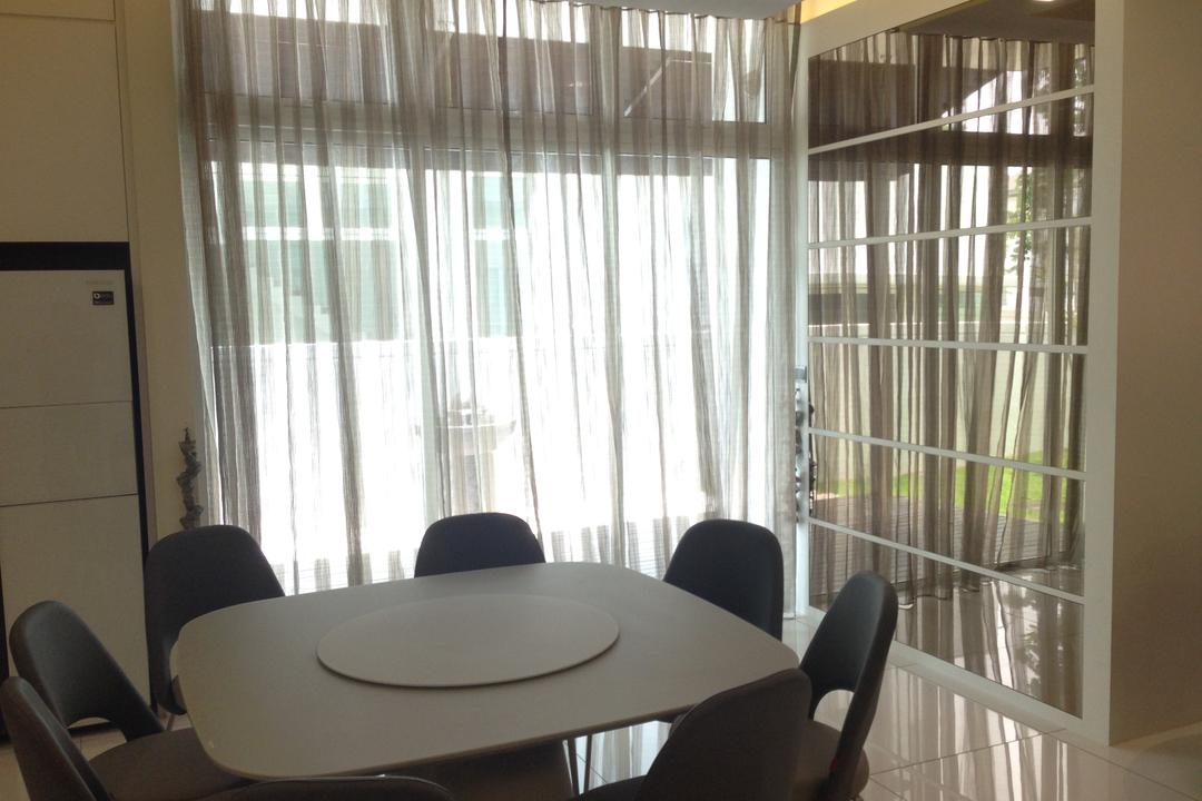 Kinrara Residence, Puchong, Trivia Group Sdn. Bhd., Modern, Landed, Chair, Furniture, Conference Room, Indoors, Meeting Room, Room