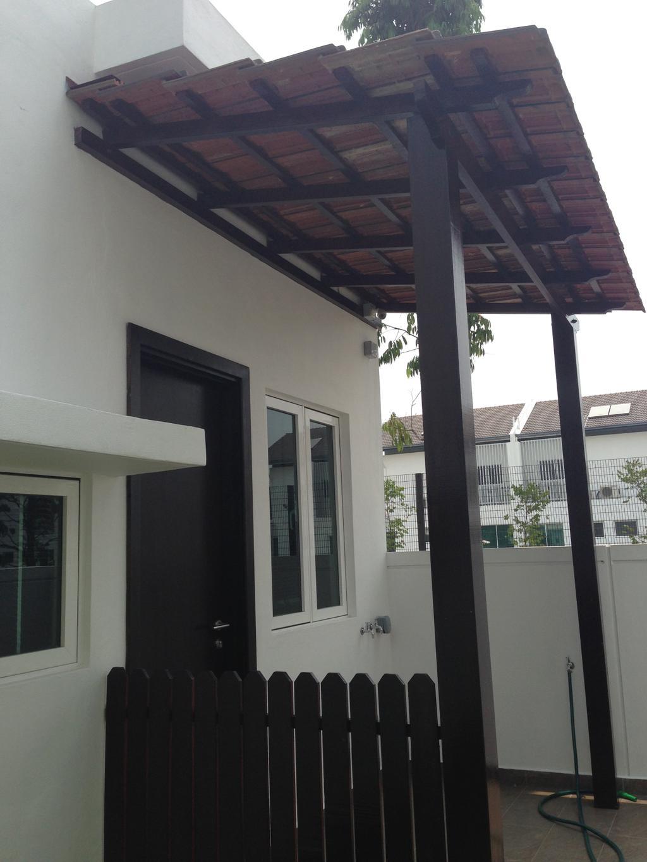 Modern, Landed, Kinrara Residence, Puchong, Interior Designer, Trivia Group Sdn. Bhd., Building, House, Housing, Villa, Architecture, Column, Pillar