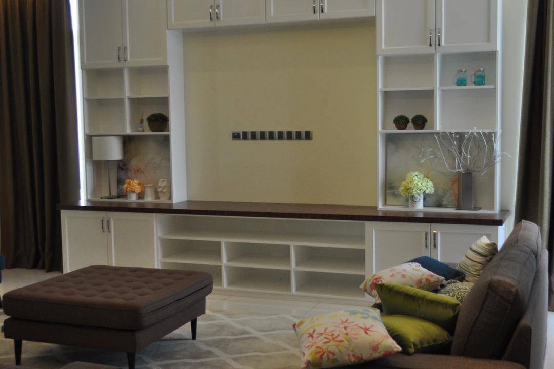 Kinrara Residence, Puchong, Trivia Group Sdn. Bhd., Minimalistic, Landed, Couch, Furniture