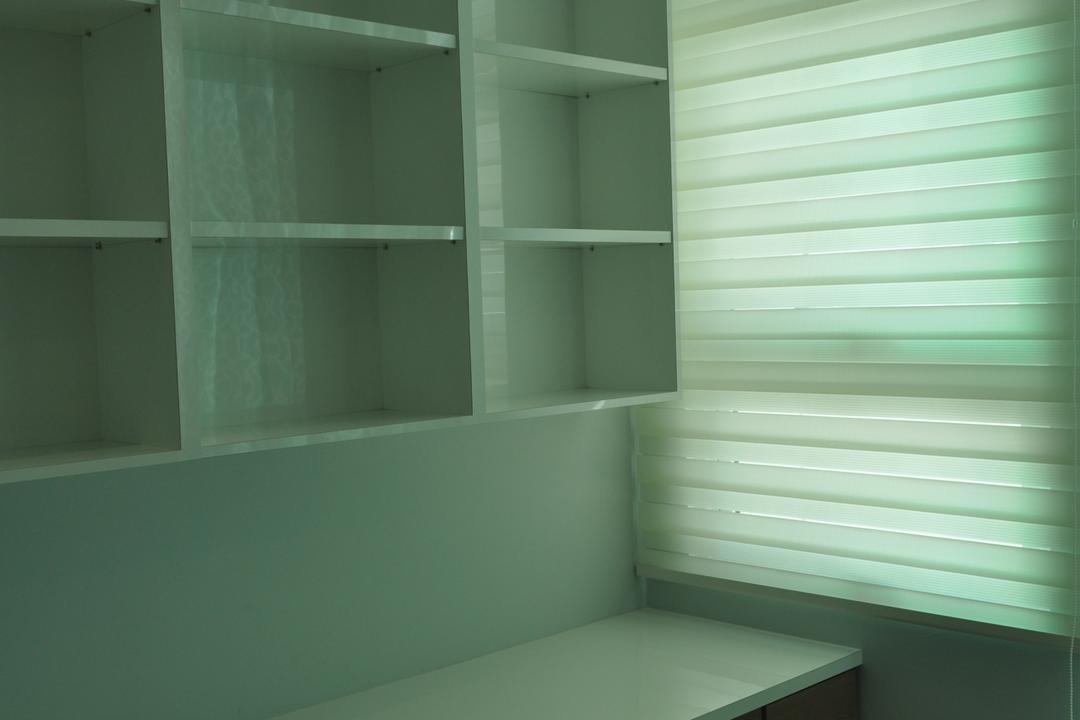 Kinrara Residence, Puchong, Trivia Group Sdn. Bhd., Minimalistic, Landed, Closet, Cupboard, Furniture, Bookcase