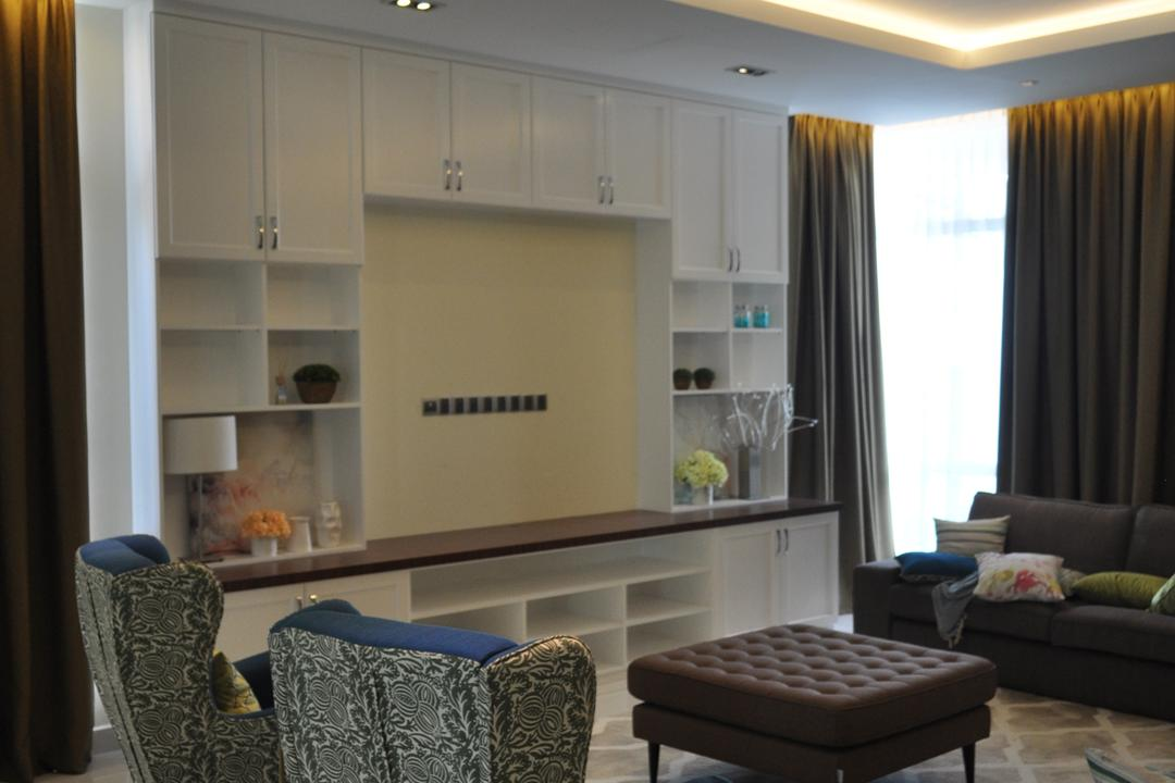 Kinrara Residence, Puchong, Trivia Group Sdn. Bhd., Minimalistic, Landed, Couch, Furniture, Ottoman