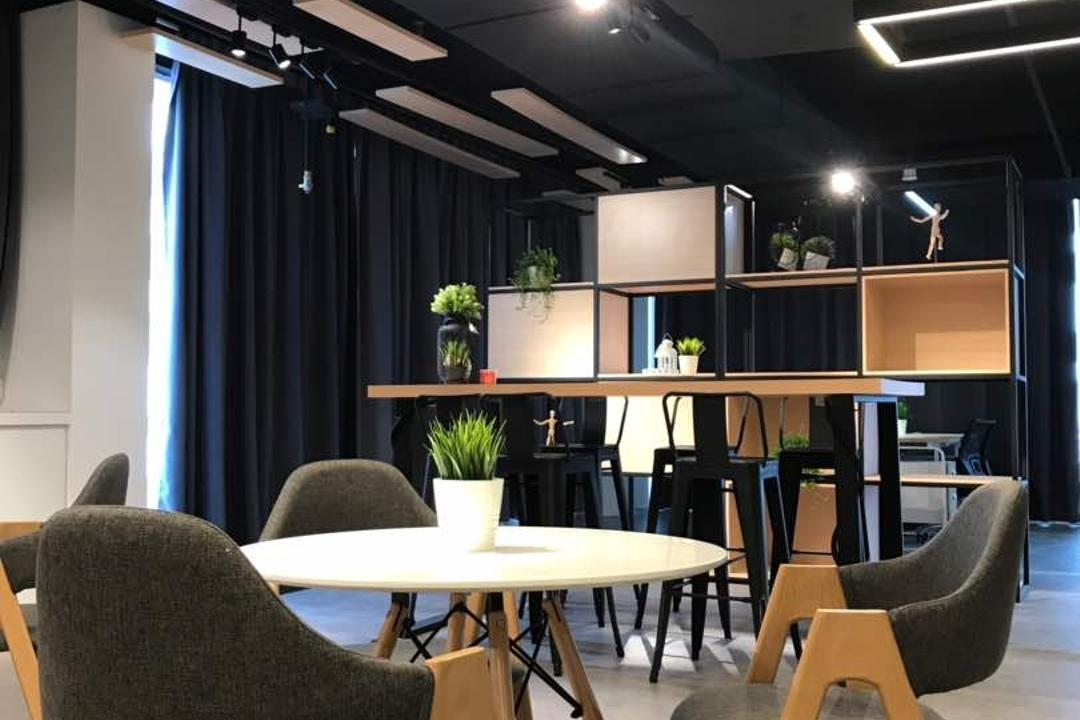 We Pays Office, Mahkota Parade, Trivia Group Sdn. Bhd., Modern, Contemporary, Commercial, Flora, Jar, Plant, Potted Plant, Pottery, Vase, Chair, Furniture, Dining Table, Table