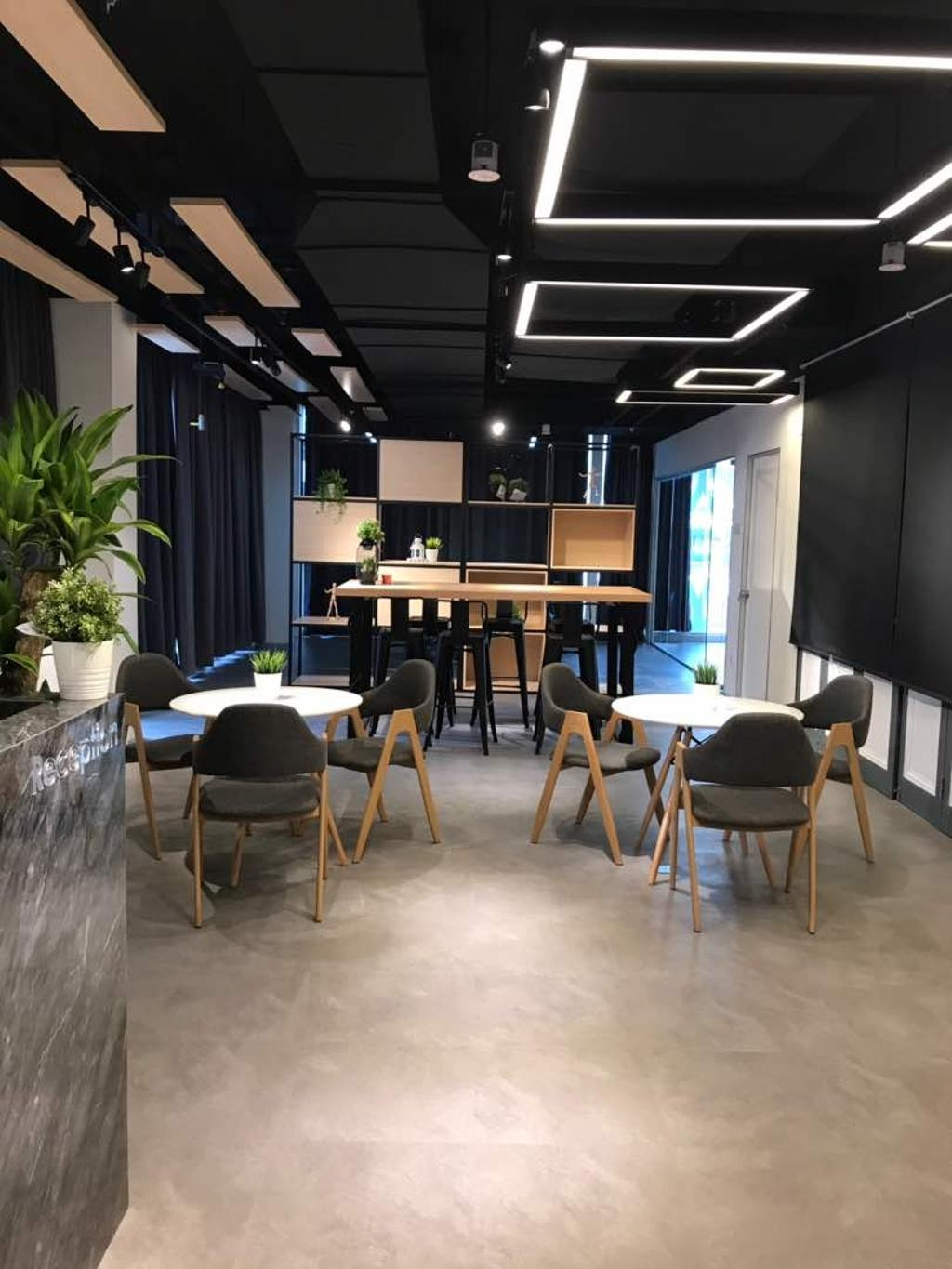 We Pays Office, Mahkota Parade, Commercial, Interior Designer, Trivia Group Sdn. Bhd., Modern, Contemporary, Flora, Jar, Plant, Potted Plant, Pottery, Vase, Dining Table, Furniture, Table, Chair, Couch