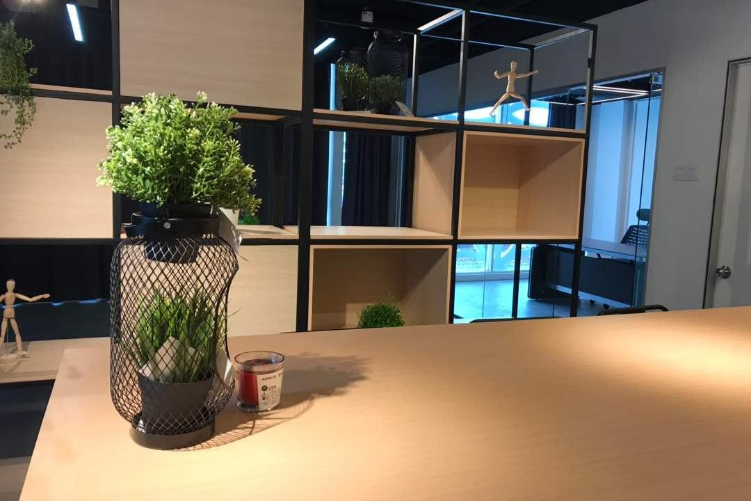 We Pays Office, Mahkota Parade, Trivia Group Sdn. Bhd., Modern, Contemporary, Commercial, Flora, Jar, Plant, Potted Plant, Pottery, Vase, Couch, Furniture