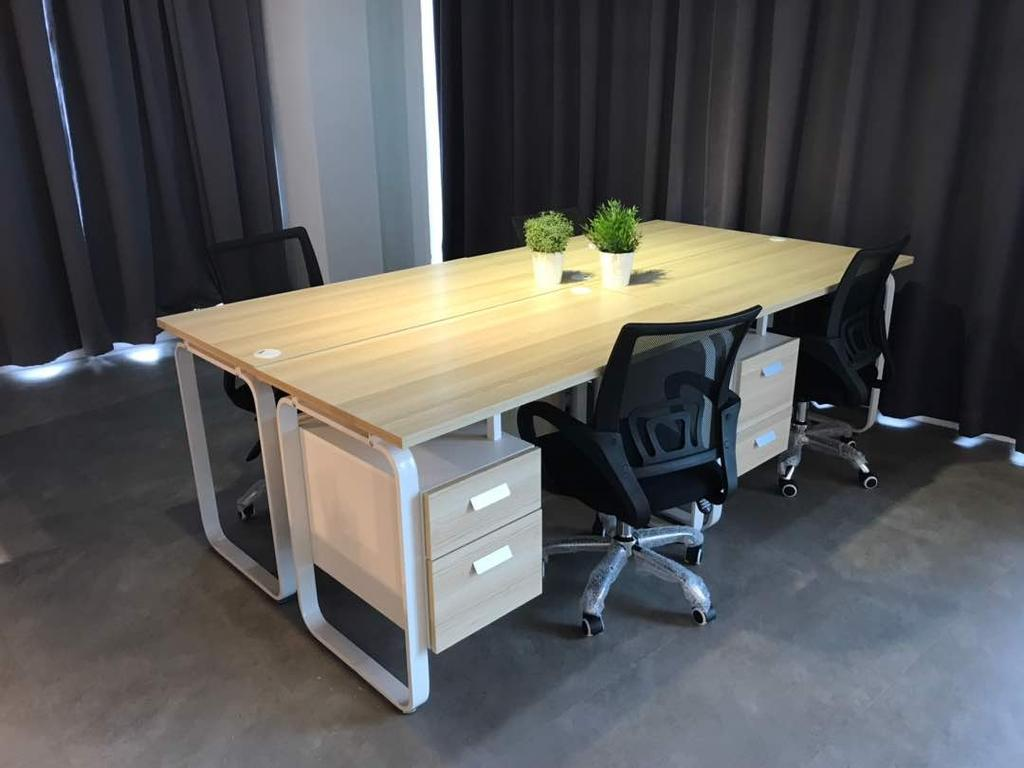 We Pays Office, Mahkota Parade, Commercial, Interior Designer, Trivia Group Sdn. Bhd., Modern, Contemporary, Flora, Jar, Plant, Potted Plant, Pottery, Vase, Dining Table, Furniture, Table, Chair, Drawer