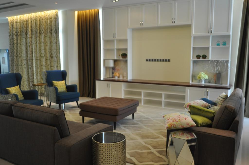 Minimalistic, Landed, Kinrara Residence, Puchong, Interior Designer, Trivia Group Sdn. Bhd., Couch, Furniture, Indoors, Interior Design