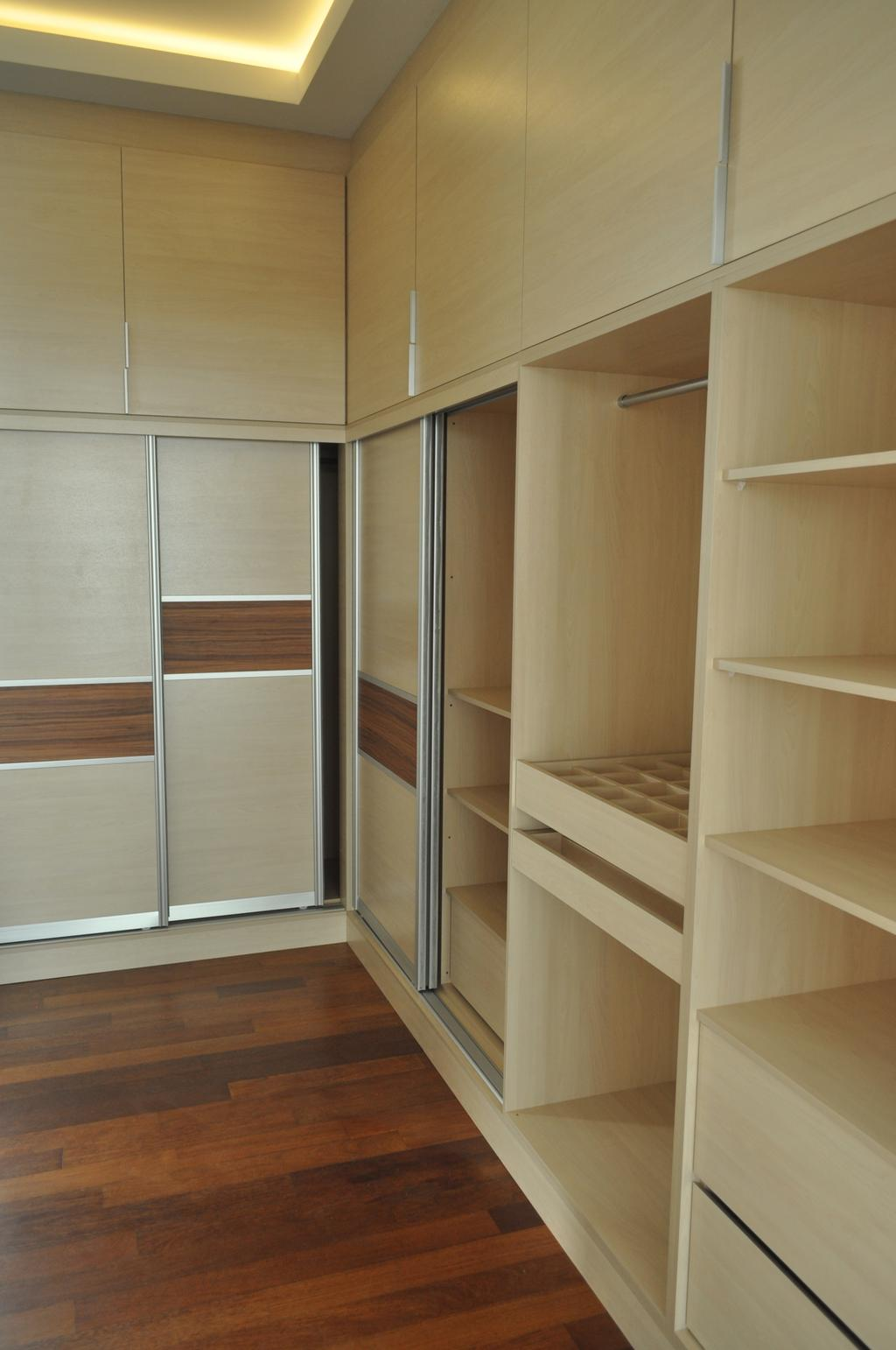 Minimalist, Landed, Kinrara Residence, Puchong, Interior Designer, Trivia Group Sdn. Bhd., Bookcase, Furniture