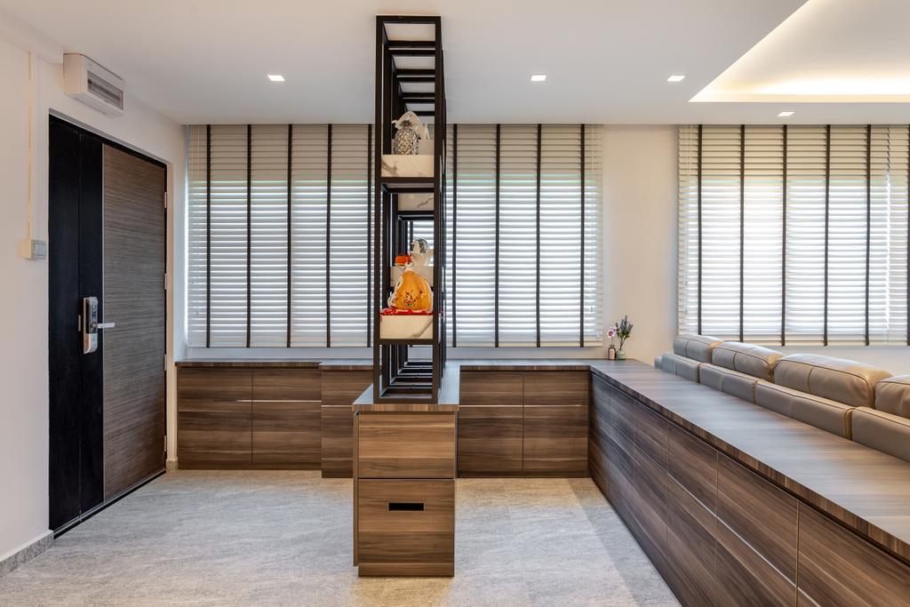 Contemporary, HDB, Tampines Street 72, Interior Designer, Team Interior Design