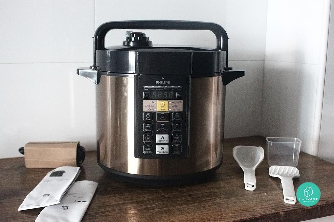 Philips' HR2139 All-in-One Multi Cooker Review 1
