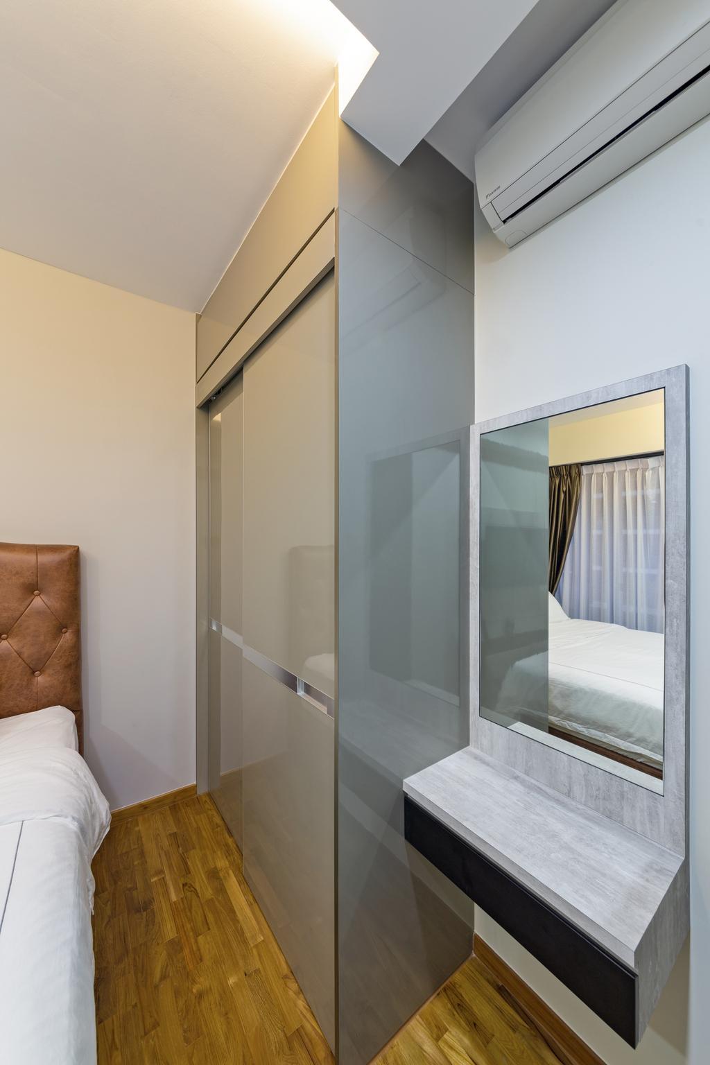 Scandinavian, Condo, Bedroom, Sims Urban Oasis, Interior Designer, Starry Homestead, Modern