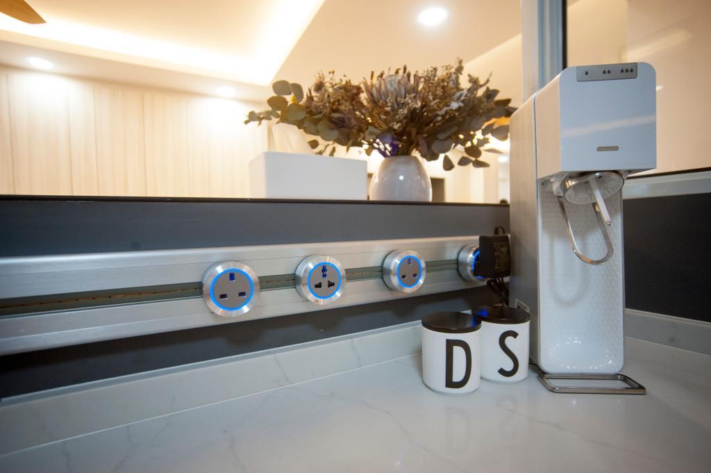 Scandinavian, HDB, Kitchen, Kim Tian Road, Interior Designer, Starry Homestead
