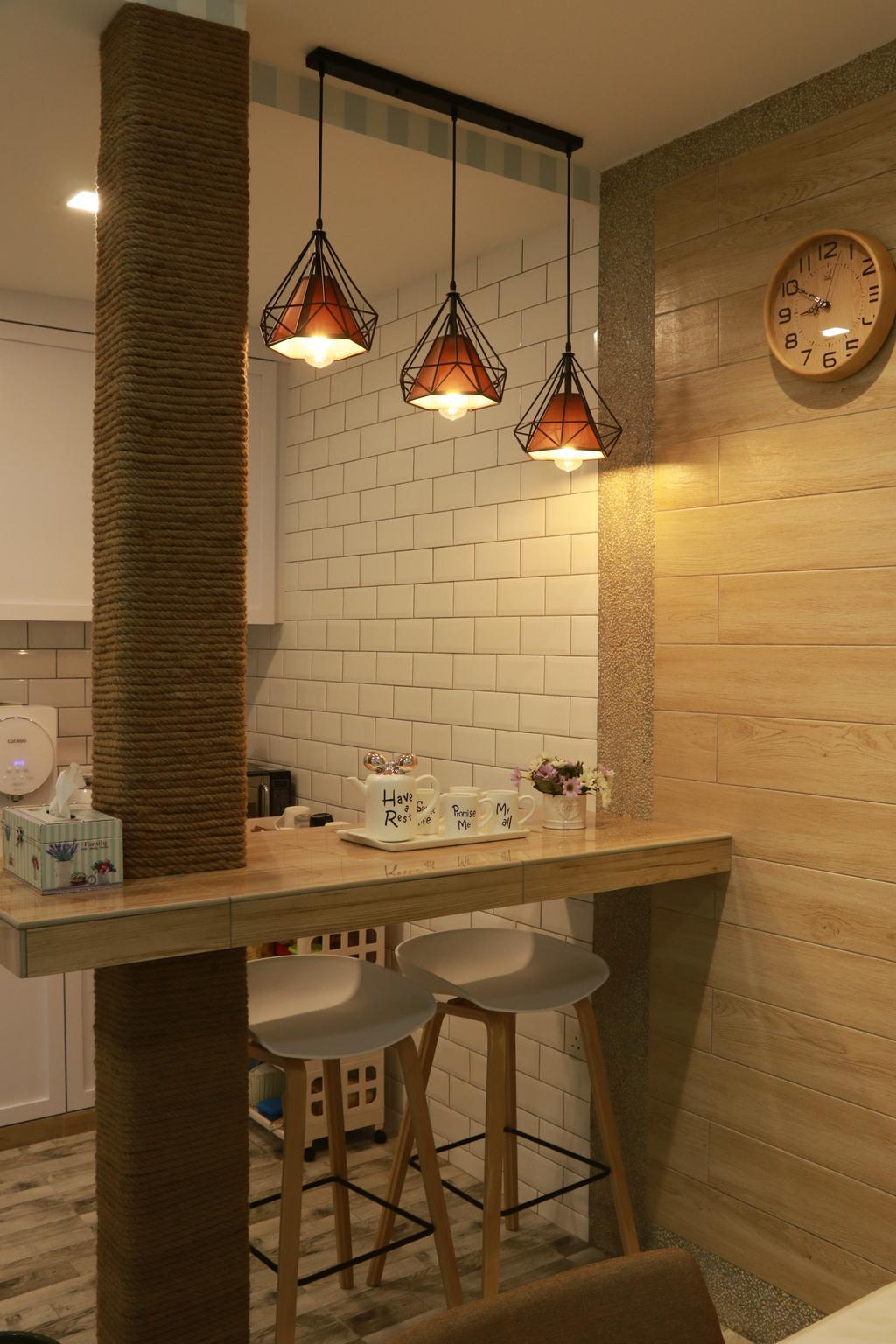Vintage, Condo, Muar, Interior Designer, Philia Interior Design Studio, Contemporary
