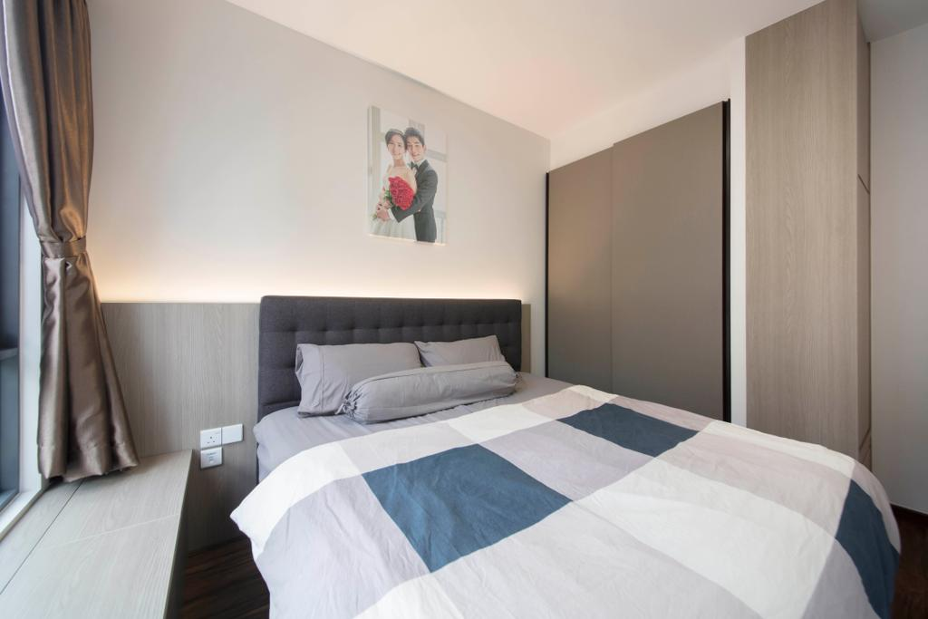 Modern, Condo, Bedroom, The Brownstone, Interior Designer, Starry Homestead
