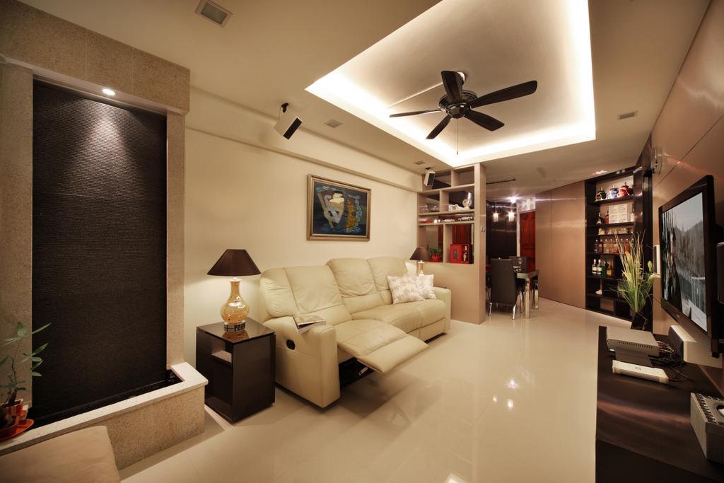 Transitional, HDB, Living Room, Depot Road, Interior Designer, The Interior Place