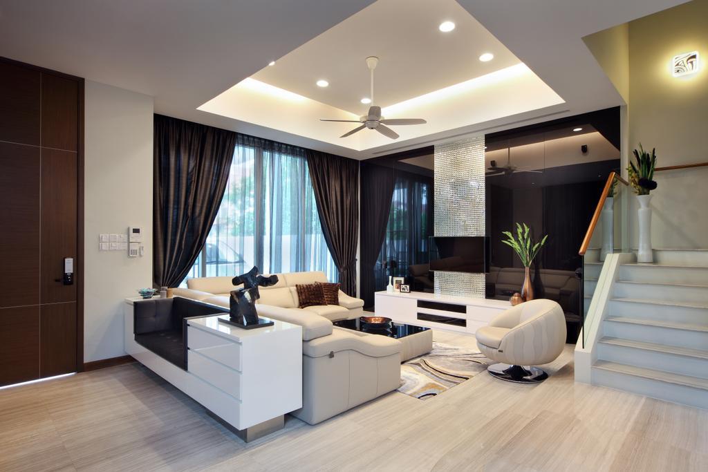 Modern, Landed, Living Room, Mackerrow Road, Interior Designer, The Interior Place
