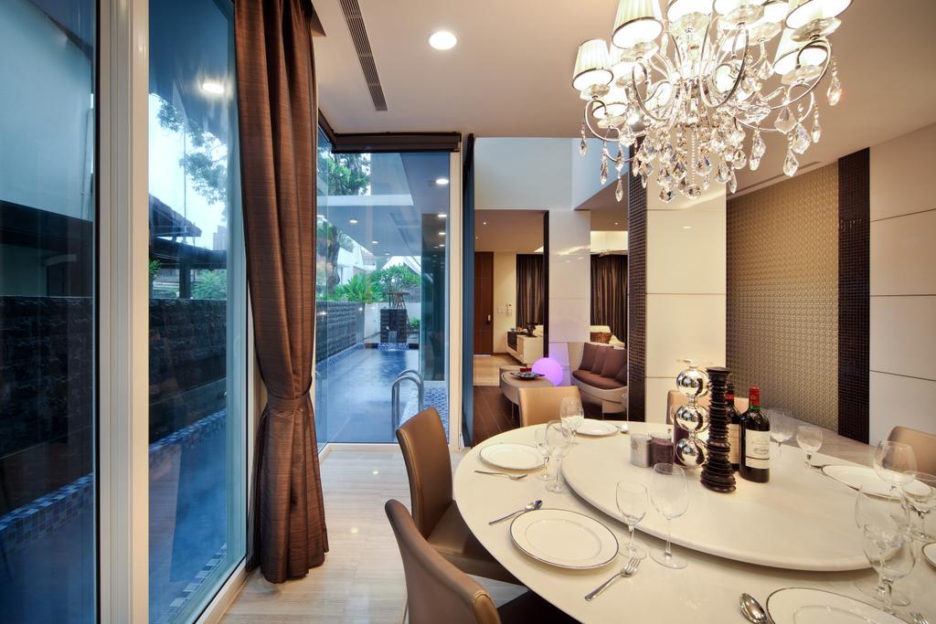Modern, Landed, Dining Room, Mackerrow Road, Interior Designer, The Interior Place
