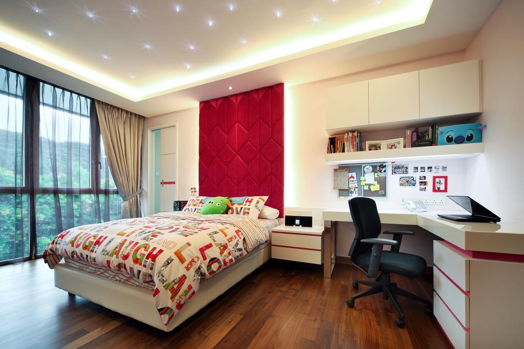 Modern, Landed, Bedroom, Mackerrow Road, Interior Designer, The Interior Place
