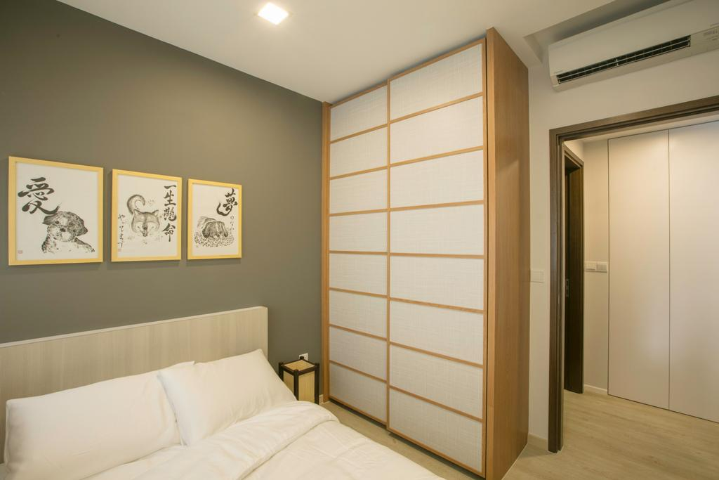 Minimalistic, Condo, Bedroom, Parc Centros, Interior Designer, The Interior Place