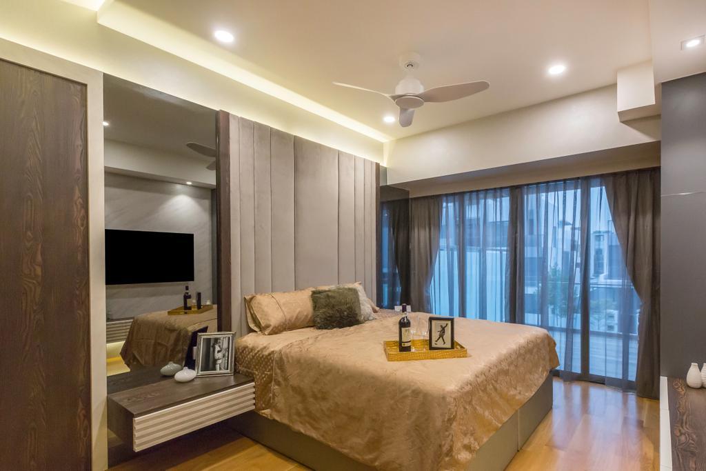 Modern, Condo, Bedroom, Pavillion Circle, Interior Designer, The Interior Place